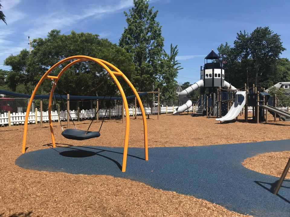 Jamestown Community Playground Reopens